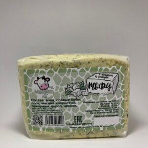 """Тофу с чесноком и укропом """"Mallakto"""", 400 гр"""