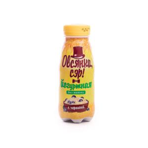 Йогурт овсяный питьевой с черникой «Овсянка, сэр!», 250гр