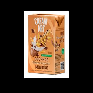 """Овсяное шоколадное молоко """"Cream Art"""", 1л"""