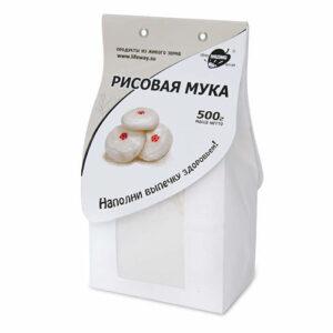 """Мука рисовая """"Образ жизни"""", 500 гр"""