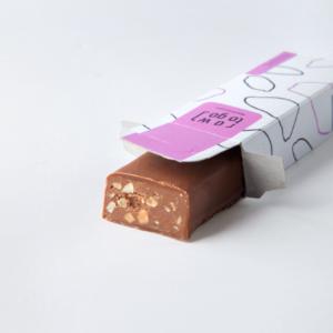"Шоколадный батончик с арахисом ""Raw to go"", 45 гр"