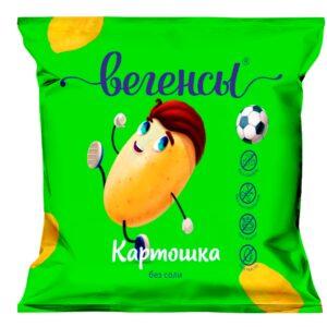 """Нечипсы Картошка без соли """"Вегенсы"""", 50гр"""