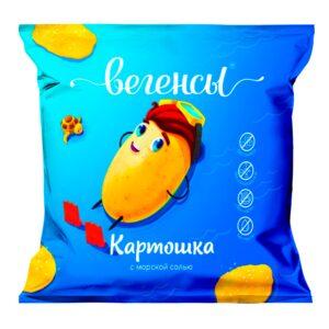 """Нечипсы Картошка с морской солью """"Вегенсы"""", 50гр"""