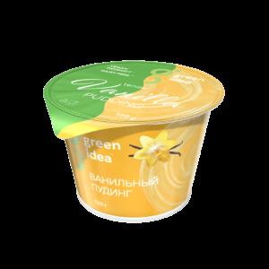 """Пудинг соевый """"Green Idea"""" Ванильный c витаминами и кальцием, 120 г"""