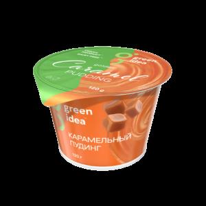 """Пудинг соевый """"Green Idea"""" Карамельный c витаминами и кальцием, 120 г"""