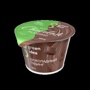 """Пудинг соевый """"Green Idea"""" Шоколадный c витаминами и кальцием, 120 г"""