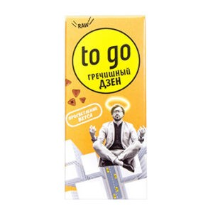 "Батончик шоколадный гречишный ""Raw to go"", 45 гр"