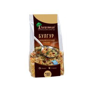 """Булгур с белыми грибами и овощами """"Здороведа"""", 250 гр"""