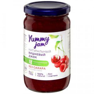 "Джем ""Yummy jam"" Вишневый без сахара, 350 г"
