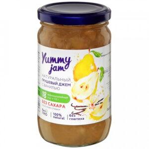 """Джем """"Yummy jam"""" Грушевый с ванилью без сахара, 350 г"""