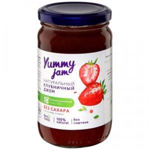 "Джем ""Yummy jam"" Клубничный без сахара, 350 г"
