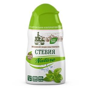 """Жидкий столовый подсластитель """"Стевия Nature"""" Bionova, 80 гр"""