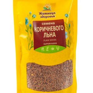 """Семена Льна коричневого """"Житница здоровья"""", 230 гр"""