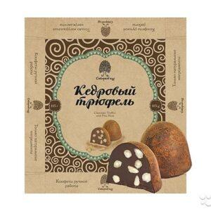 """Конфеты Кедровый трюфель """"Сибирский кедр"""", 115 гр"""
