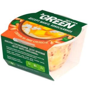 """Десерт манго, кокос и киноа """"Agama Green"""", 110 гр"""