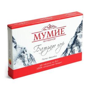 """Мумие алтайское """"Бальзам гор"""""""