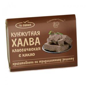 """Халва кунжутная с какао """"Сокровища Сезама"""", 290 гр"""