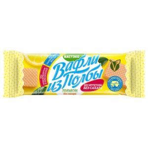 """Вафли из полбы без сахара """"Лимон"""" Вастэко"""