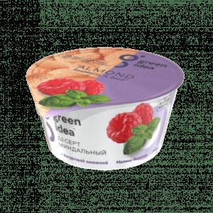 """Десерт Green Idea миндальный с йогуртовой закваской """"Малина-базилик"""" 140 г"""