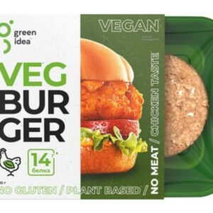 """Котлеты со вкусом курицы Veg Burger """"Green Idea"""", 220 гр"""