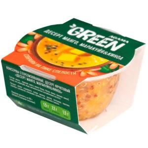 "Десерт манго, маракуйя и киноа ""Agama Green"", 110 гр"