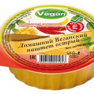 """Веганский паштет острый """"Оливкус"""", 50 гр"""