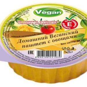 """Веганский паштет с овощами """"Оливкус"""", 50 гр"""