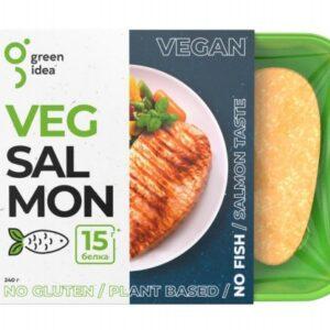 """Стейк со вкусом лосося Veg Salmon """"Green Idea"""", 240 гр"""