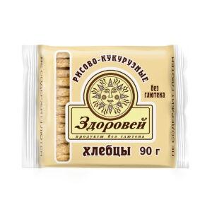 """Хлебцы Рисово-кукурузные """"Здоровей"""", 90 гр"""