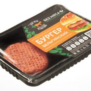 """Веганские котлеты для бургера """"Бельгийский"""" LIGHT MEAT, 200 г"""