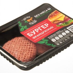 """Веганские котлеты для бургера """"Французский"""" LIGHT MEAT, 200 г"""