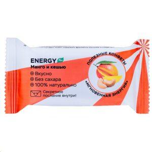 """Полезные конфеты Jump Protein """"Манго-кешью"""", 28 г"""