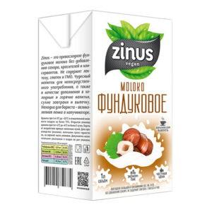 "Молоко фундуковое ""Zinus"", 1л"