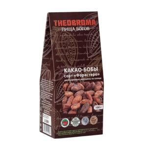 """Какао-бобы сушеные, необжаренные """"Theobroma"""", 100 гр"""