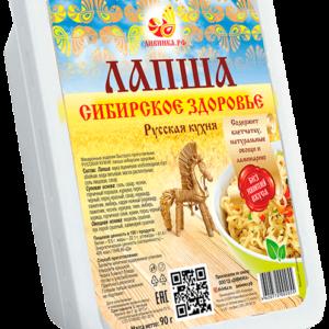 """Лапша быстрого приготовления с ламинарией """"Дивинка"""", 90 гр"""