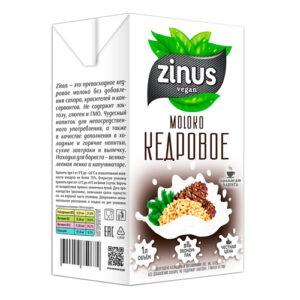 """Молоко кедровое """"Zinus"""", 1л"""