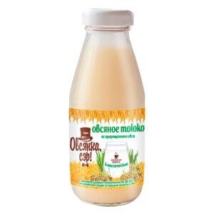"""Овсяное молоко из пророщенного овса """"Овсянка,Сэр!"""", 300 мл"""