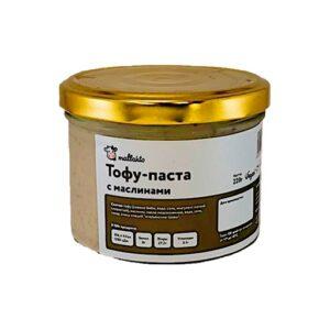 Тофу-паста с маслинами «Mallakto», 220 гр