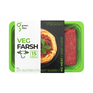 "Фарш со вкусом говядины Veg Farsh ""Green Idea"", 370 гр"