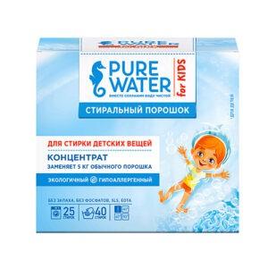 """Стиральный порошок для детского белья """"Pure Water"""", 800 гр"""