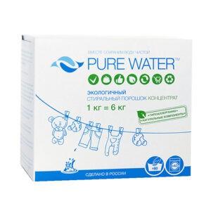 """Стиральный порошок """"Pure Water"""", 1000 гр"""