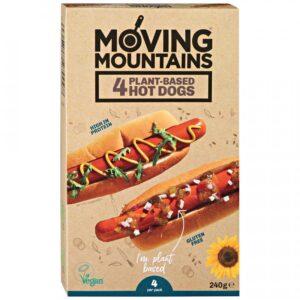 """Сосиски для хот-дога """"Moving Mountains"""", 240 гр"""