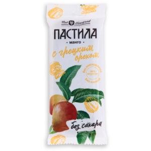 "Пастила из манго с грецким орехом ""Nut Vinograd"", 50 гр"