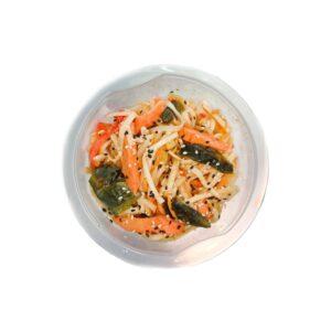 """Вок с овощами и веган-лососем """"Agama"""", 200 гр"""