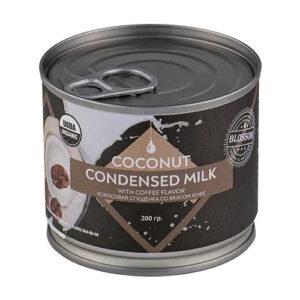 """Сгущенное молоко кокосовое со вкусом кофе """"Blossom"""", 200 гр"""