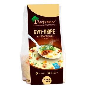 """Суп-пюре картофельный с грибами """"Здороведа"""", 110 гр"""